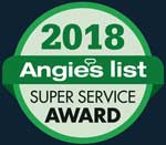 angies list super service award 2018 badge