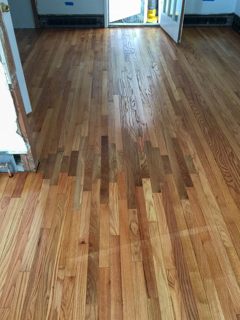 repair needed - wrong floor color installed